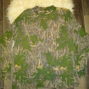 Mossy Oak camo long sleeve t-shirt XL